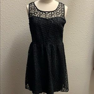 Tea n Rose blacks lace sleeveless dress size M